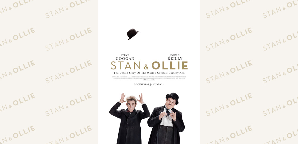 第76回ゴールデン・グローブ賞 男優賞ノミネート作品!「Stan&Ollie(原題)」日本公開決定!